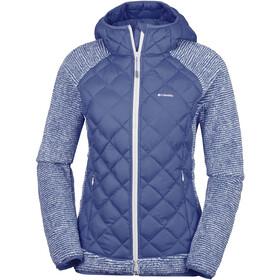 Columbia Techy Hybrid Fleece Jacket Damen nocturnal